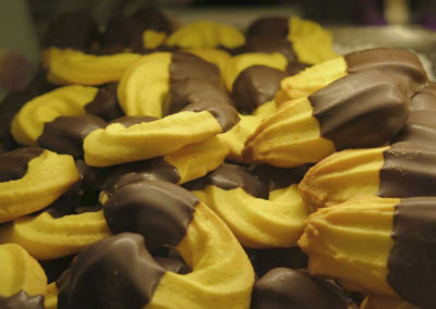 Frolle al cioccolato