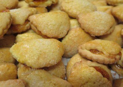 Tortelli con confettura di albicocche o mostarda