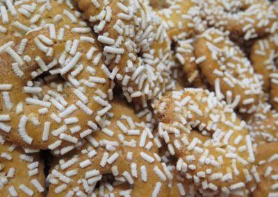 Zuccherini con granella di zucchero